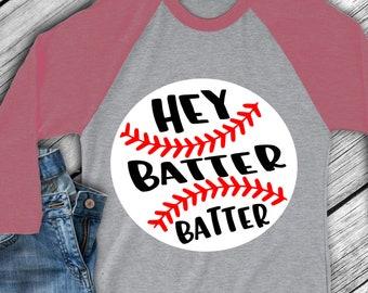 Baseball svg Hey batter batter svg, baseball svg, baseball Mom, sibling baseball t-shirt  design clip art, SVG, DXF, EPS, png, iron on