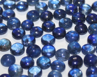Natural Kyanite 9 mm Round Cabochon Top Quality- Kyanite Round Cabochon