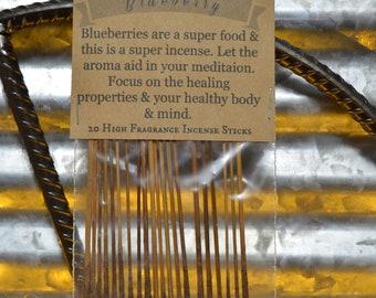 Blueberry Incense Sticks