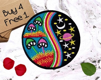 Galaxy Patches Adventure Patches Iron On Patch Sew On Patch Patches For Backpacks