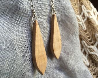 Maple Dewdrop Dangle Earrings