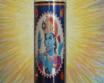 MJK Candle Krishna