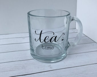 Tea Time Clear Mug