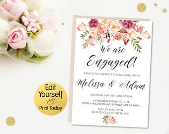 engaement invitation
