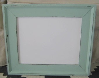 Light Green DRY ERASE BOARD- Farmhouse Style - Traditional Framed White Board- Office - Shabby Chic-Many Sizes- Sage Green Xlarge Dry Erase