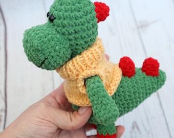 Dragon amigurumi Green dragon Dragon toy Baby dragon Small dragon Dragon plushie Stuffed dragon Crochet dragon Plush dragon toy plush gift