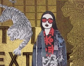Ayako in Gold