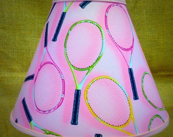 Tennis Pink Lamp Shade