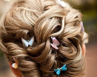 3pcs 3D Butterfly Hair Accessories Boho Hair Clips Butterfly Wedding Updo Hair Accessories Boho Accessories For Womens Gifts For Her