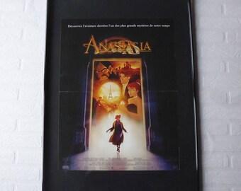 1997 Disney Anastasia affiche cinéma originale