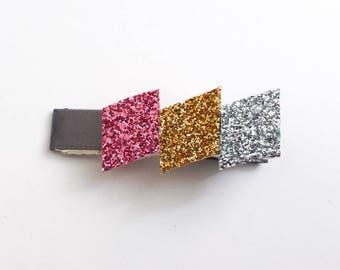 Diamond Hair clip / Glitter Hair Clip / Girls Hair Clip / Alligator Clip