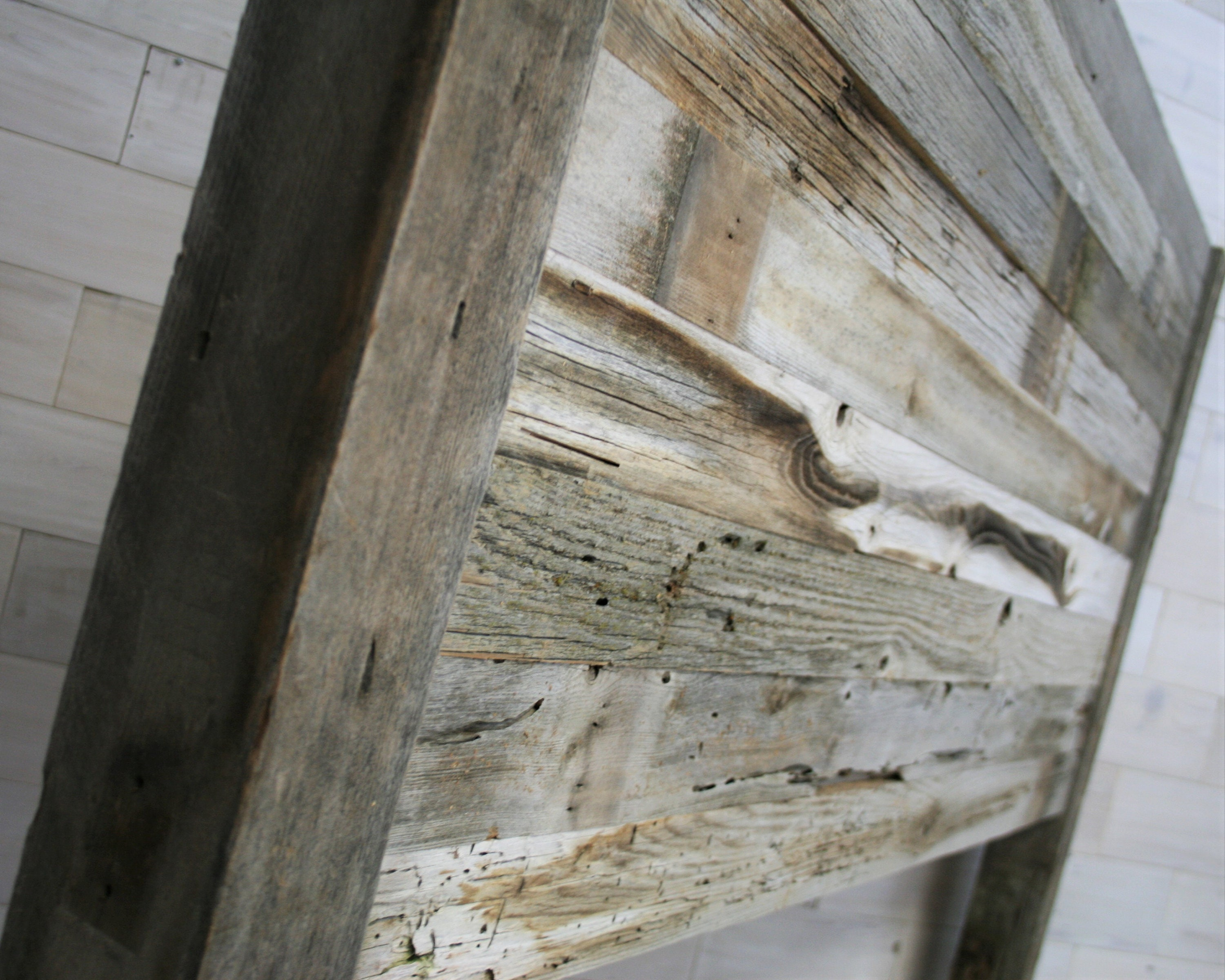 reclaimed projects wood white diy queen size ana headboard furniture