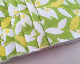 Unpaper Towels, Eco Friendly, Green, Gift for Her, Sustainable, Zero Waste, Housewarming Gift, Reusable Paper Towels, Cloth Napkins,