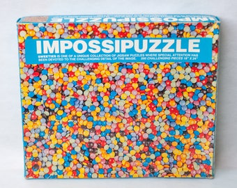 Vintage Puzzle 550 pieces Impossipuzzle model Sweeties, game, puzzle, puzzle, vintage 90's, gift idea