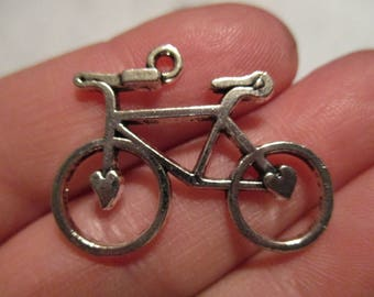 Set of 5 bicycle Charms