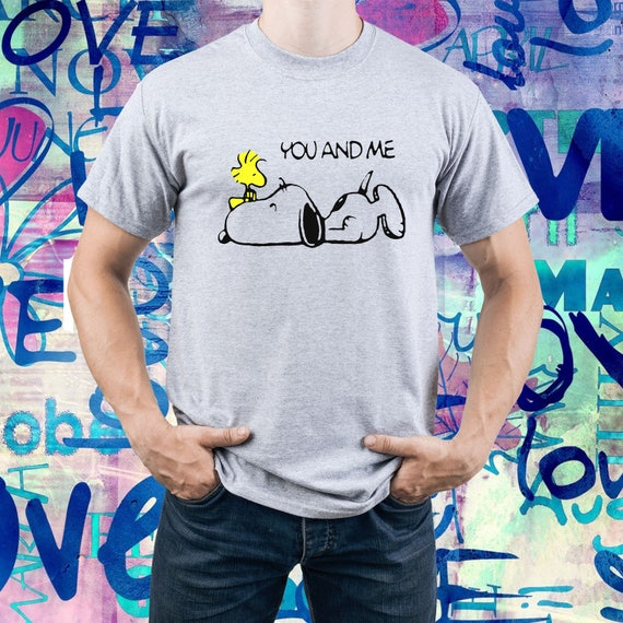 Men's Snoopy Woodstock You and Me Tee - S to 2XL