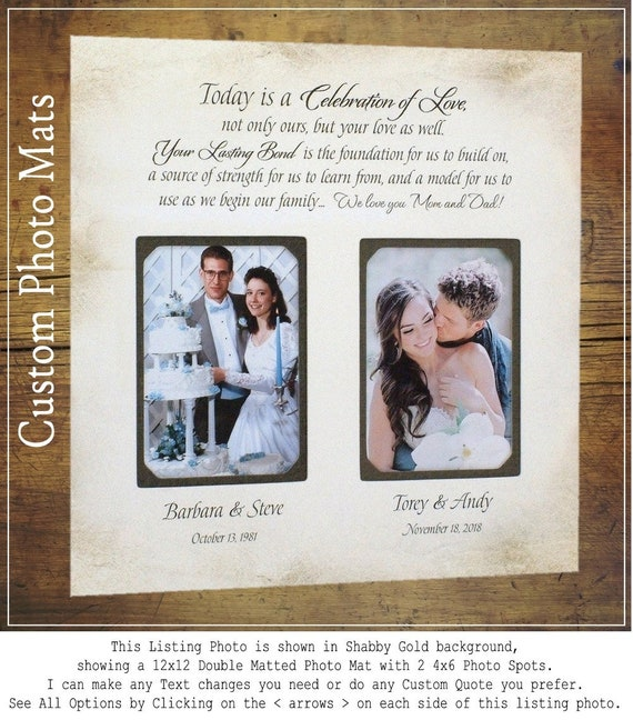 In-Laws Wedding Gift Wedding Gift for Parents Personalized