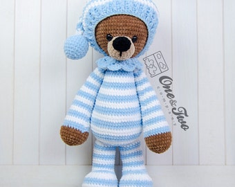 "Sydney the Big Teddy Bear ""Big Hugs Series"" Amigurumi - PDF Crochet Pattern - Instant Download - Amigurumi Cuddy Stuff"