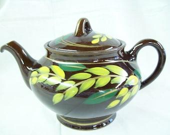 Royal Canadian Art Pottery Teapot 1940's - 1950's