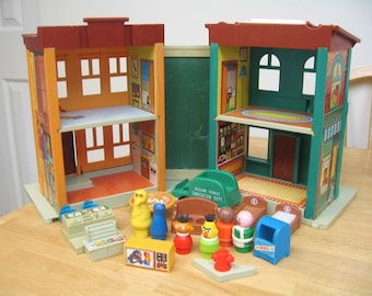 Fisher Price Sesame Street Townhouse Playset