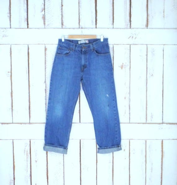 jeans 559 distressed Strauss Vintage 28 straight denim jeans faded blue Levis x leg Levi jeans relaxed 32 blue wEEpdvq
