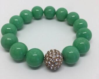 Green Sea Pearl Shell Bracelet