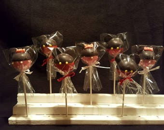 """Mouse Cake pops """"Mickey/Minnie Inspired"""" (Order of 13)"""