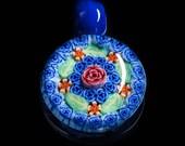 Artisan Lampwork Dark Blu...