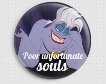 Preorder 4 weeks Poor Unfortunate Souls Ursula badge