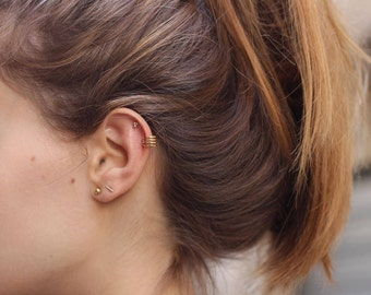 set of 5 stud earrings, tiny stud earrings, 5 Pack ball Stud Earrings,