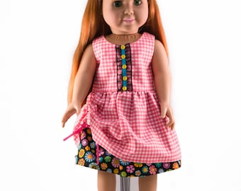 "Maddy Lou Dress for 18"" Dolls"