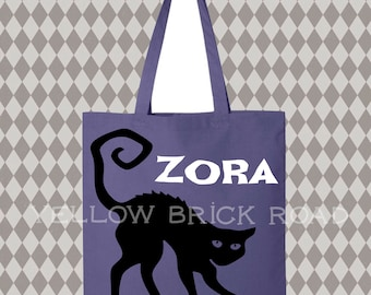 Personalized Canvas Trick or Treat Bag