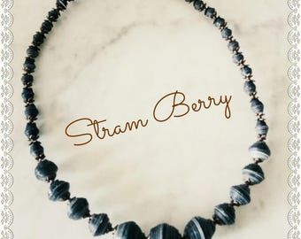 Elegant Blue choker Necklace