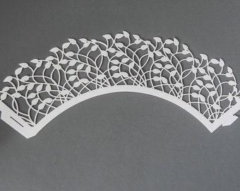 Set Of 5 Laser Cut Paper Stencils