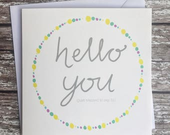Blank cards any occasion