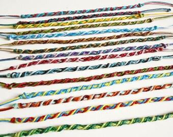 Stack bracelet set, anklet set, custom bracelet, stacking bracelets, colombian bracelet, flag bracelet customized friendship bracelet men