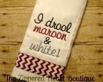 "Aggie ""Drool"" Burp Cloth"