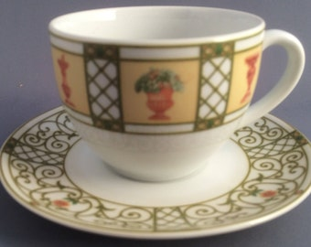 Wedgwood Terrace Tea Cup and Saucer