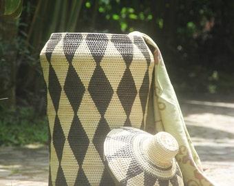 basketware/woven baskets/rattan baskets/homewares/patterned baskets/weave/storage baskets/decorative baskets/big baskets/hand woven baskets