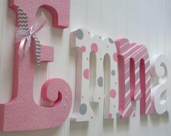 girl nursery letters etsy