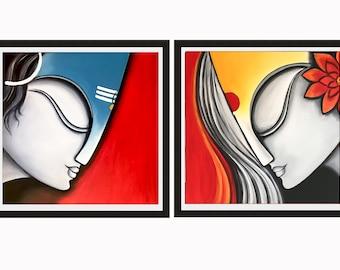 Indian print, Hindu art print, Indian decor, Printable art, Hindu wall decor, Asian art print, Modern Indian print, Hindu wall art, India