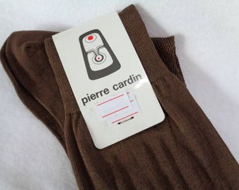VJ688 :RESERVED Pierre Cardin men's socks,High quality cotton Long men's socks,size M