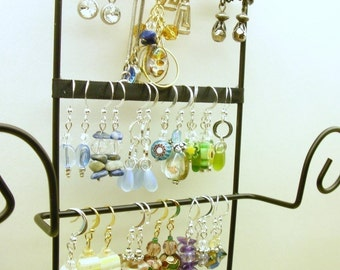 Jewelry Organizer. Jewelry Rack, Jewelry Wall Display - The Ultimate Jewelry Rack System.