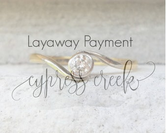 Layaway Payment for Kathrynn~ No longer available for purchase~ Due 2nd each month