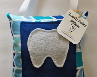 Tooth Fairy Pillow - Tooth Holder - Tooth Fairy - Children's Gift - Boys Tooth Fairy Pillow - Tooth Storage - Boys Pillow