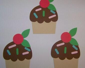 Cupcake die cuts