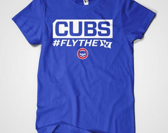CUBS FLY THE W