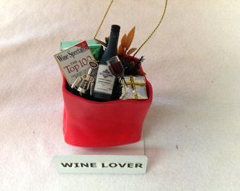 Wine Ornament