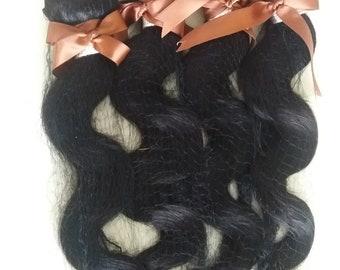 Brazilian human hair bundles (400g), grade 8A