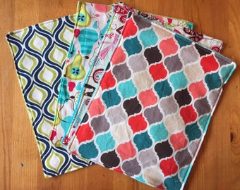 Kitchen towels, dish cloths, cleaning towels, cleaning cloths, unpaper towels, handmade cloths, kitchen cloths